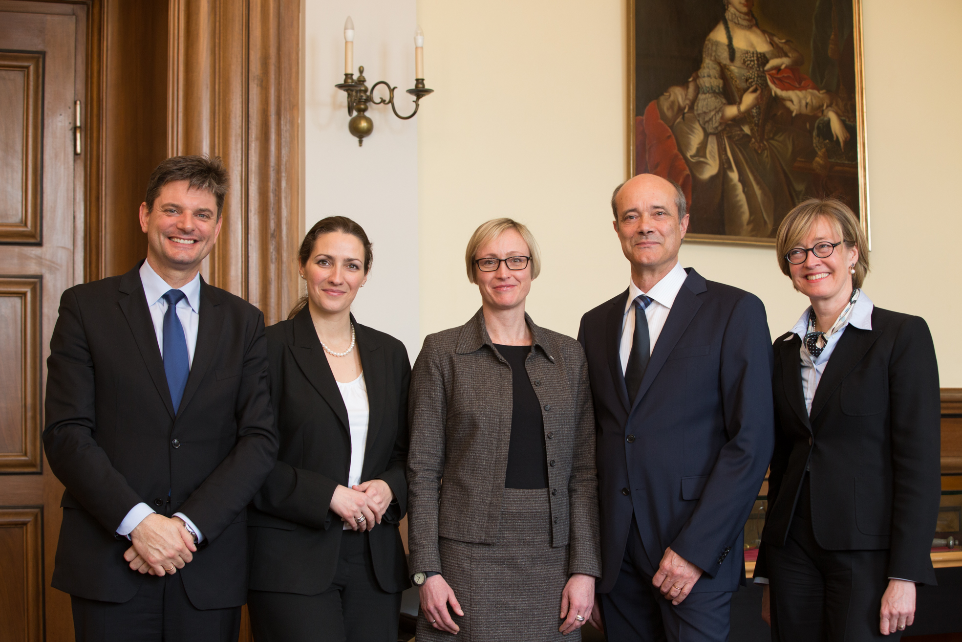 The Humboldt University Council elects three Vice Presidents